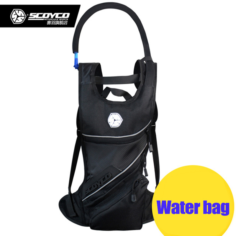 Motorcycle Hydration pack water bag motocross Riding 2L drinking water Backpack Shoulder package scoyco MB18