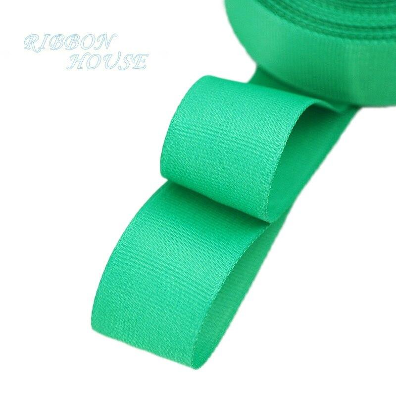 (5 м/лот) 1 «(25 мм) Зеленый корсажная лента подарочная упаковка оптом Рождество украшение ленты