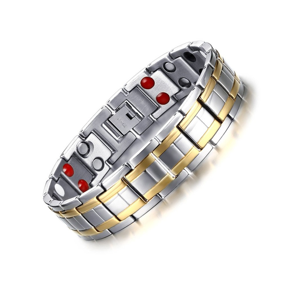Popular Magnetic Slimming Bracelet Fashionable Jewelry For Man Woman Link Chain Weight Loss Bracelet Health Slimming Products 3