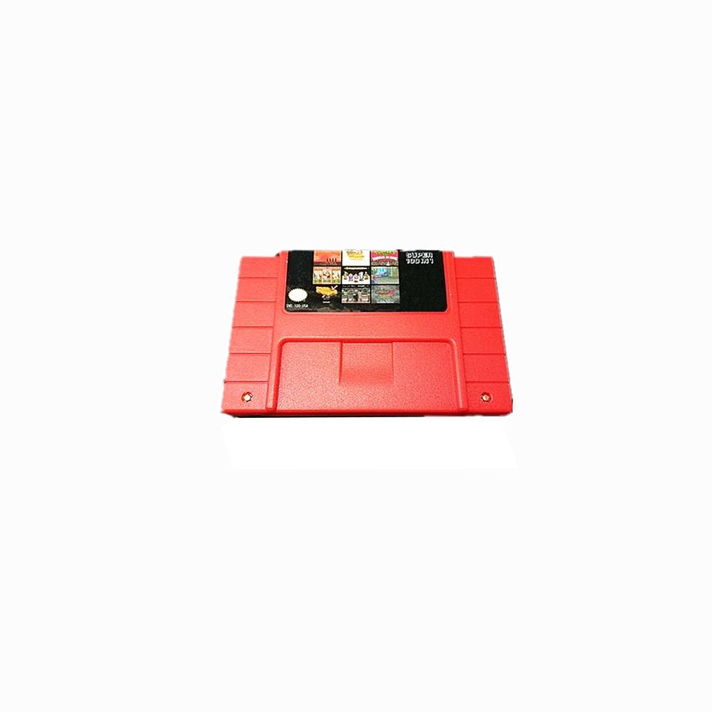 20 pièces un lot 100 dans 1 NOUS Version vidéo cartouche de jeu pour SNES