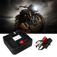 DC 12v Motor Bike Compact Mini Tyre Air Compressor Inflator Pump Universal For Cars Motorcycles Electric