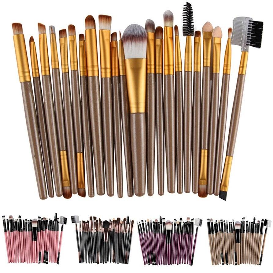 MAANGE 22Pcs/Set Makeup Brush Tools Make-up Toiletry Kit Wool Make Up Brush Set makeup brushes drop shipping 1123 free ship