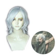 BONJEAN Game Devil May Cry 5 Cry5 Vitale V Hunter Silvery White Halloween Hair
