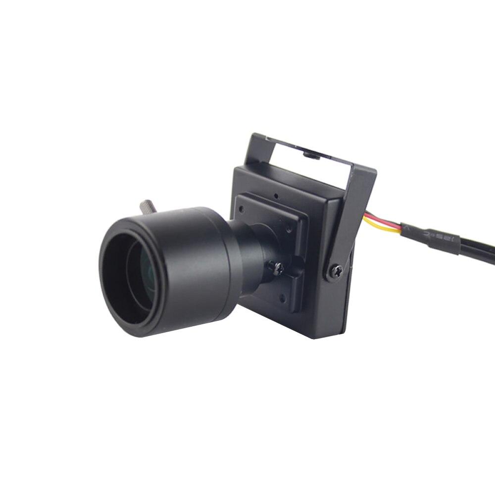 CCTV Camera Mini 800TVL CMOS Sensor 2.8 12mm Varifocal Lens Mini Camera Zoom Car Camera Overtaking RCA Connector Analog Camera