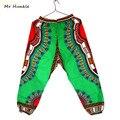 Novo Design Africano Dashiki Tradicional de Impressão 100% Algodão Calças Tornozelo-Comprimento Pant Para Unisex