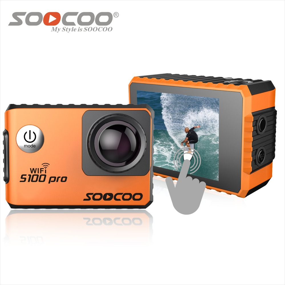 soocoo s100 pro action camera touch screen 4k wifi voice full hd 1080p 20m waterproof diving. Black Bedroom Furniture Sets. Home Design Ideas