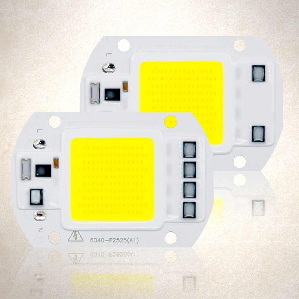 COB LED Lamp Chip AC 220V No Need Driver LED Flood Light Bulb Chip 3W 5W 7W 9W 10W 20W 30W 50W Diy Spotlight Floodlight Lampada