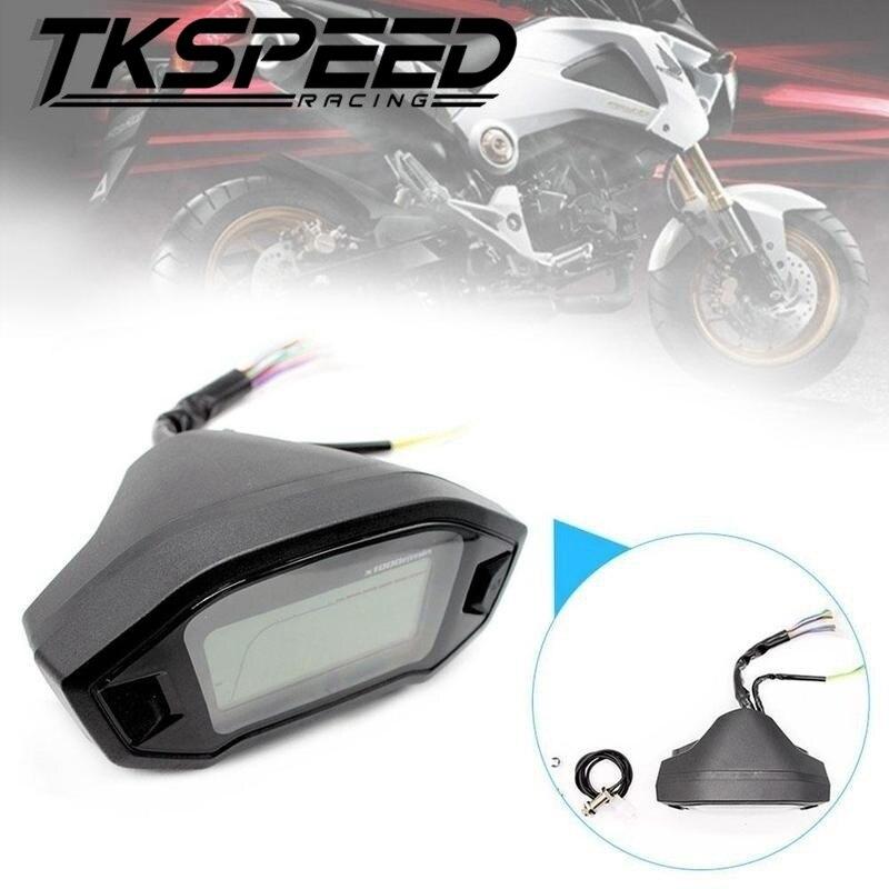 Diagram Universal Motorcycle Cylinders Lcd Digital Speedometer