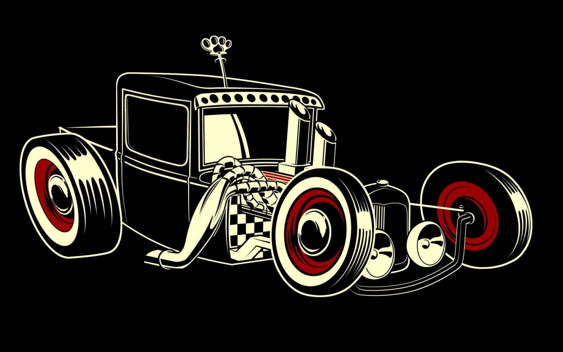 Ретро Автомобиль Рисунок вектор emgine мультфильм гостиная Главная Wall Art декор деревянной раме ткань плакаты