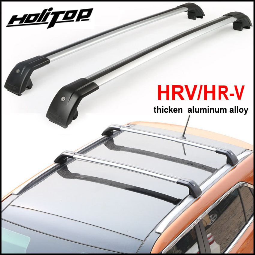 New arrival luggage bar cross bar roof rack rail for Honda HR-V HRV X-RV Vezel 2010-2018.thick aluminum alloy.Asia free shipping free shipping fiesta hatchback high quality aluminum roof rack luggage rack punch free 1 3 m
