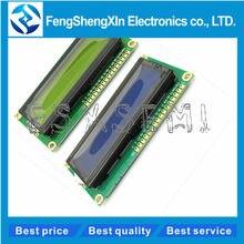 1602 16x2 caracteres módulo de exibição lcd hd44780 controlador azul/tela verde blacklight lcd1602 lcd monitor 1602 5v