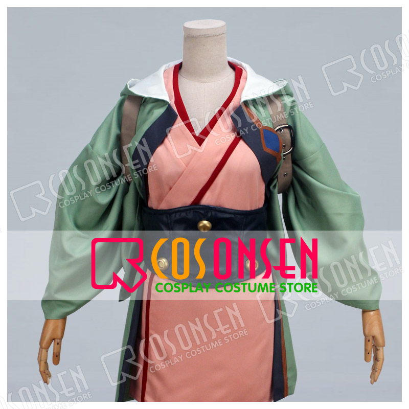 COSPLAYONSEN Kabaneri of the Iron Fortress Kajika Cosplay costume All Size