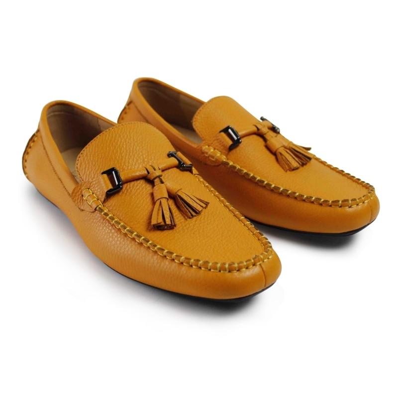2017 Italy Flat Men Sapato Masculino New Arrival Mens Casual Shoes Vintage Custom Fashion Doug Handmade Real Genuine Leather