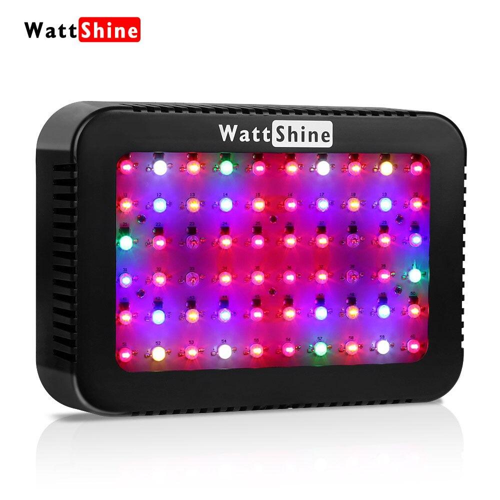 LED à spectre complet élèvent des lumières 300 W élèvent la lampe 16 bandes croissant la lumière pour des plantes d'intérieur fleurs sienne serre tente de jardin