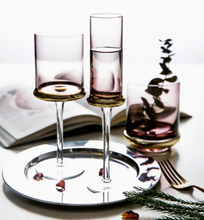 Creative Electroplated Glasses Wine Glass Cup Goblet High Quality Champagne Home Gold-plated Cups LFB364
