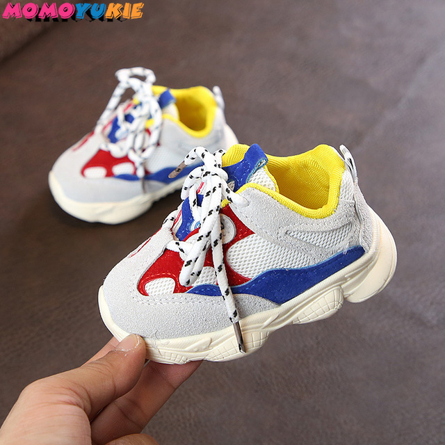 2019 1-3years baby boys and girls toddler shoes infant sneakers newborn soft bottom first walk non-slip fashion shoes 2