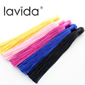 10pcs Mixed Color Handmade Silk Tassels Satin Bohemian Tassel Supplies Large And Thick Silk Tassel Jewelry Supplies