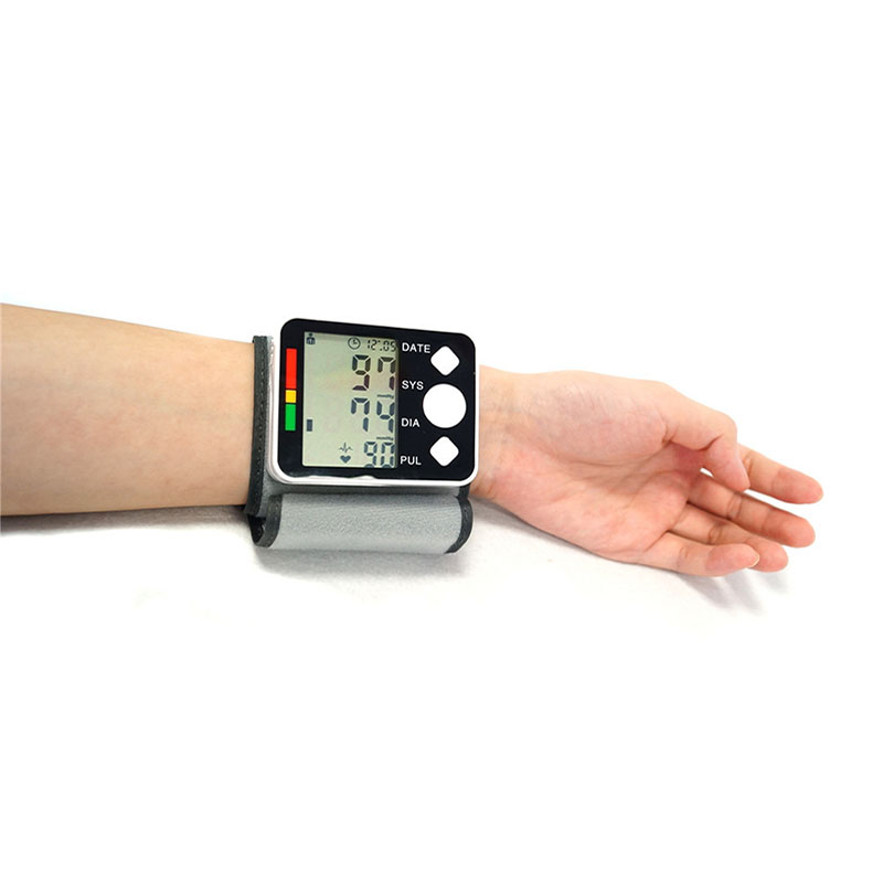 Automatic Blood Pressure Monitor Large LCD Digital Sphygmomanometer Health Care Heat Rate Monitor Arm Adult Blood Pressure Cuff  (1)