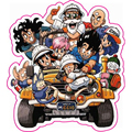 Son Goku Son Gohan Dragon Ball Z Stickers Super Saiyan - Reusable Waterproof Dragonball Fixed Gear Car Sticker Free Shipping S03