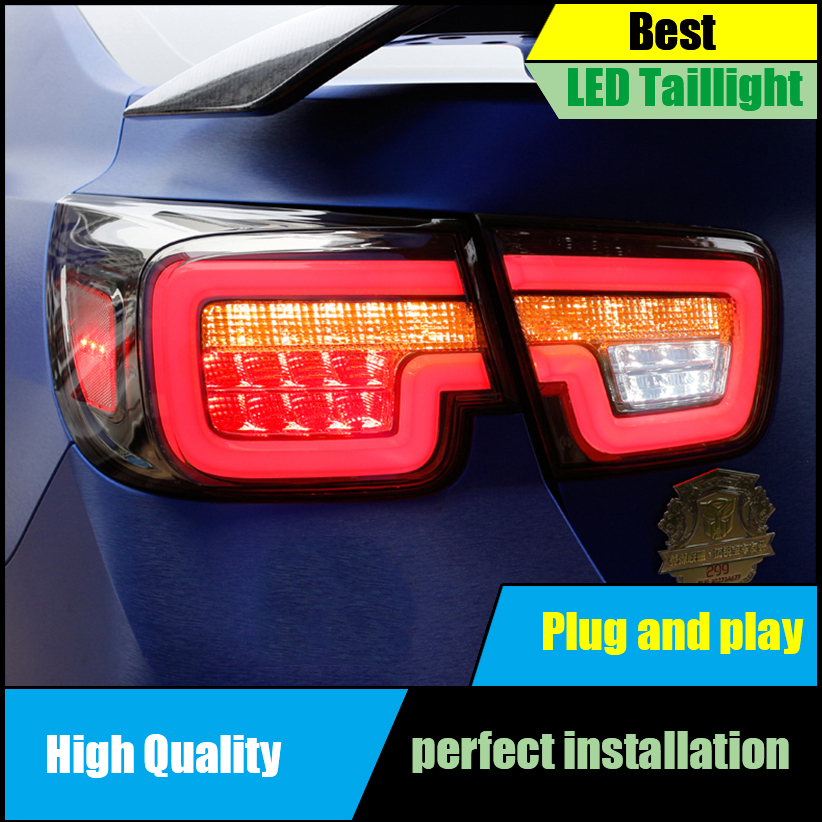 Car styling Taillight For Chevrolet Malibu 2011-2014 taillights LED Tail Lamp Rear lamp Drive+signal+brake+reverse Light hireno tail lamp for mercedes benz w220 s280 s320 s350 s500 s60 1998 05 led taillight rear lamp parking brake turn signal light