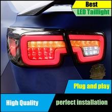 лучшая цена Car styling Taillight For Chevrolet Malibu 2011-2014 taillights LED Tail Lamp Rear lamp Drive+signal+brake+reverse Light