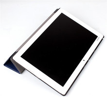 PU Leather Cover Case For Sony Xperia Z4 Tablet Ultra 10.1 inch + 2 Pcs Screen Protector Gift