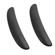 2 шт., эргономичные вертлюжные подушки для стула из пены с эффектом памяти для домашнего офиса, геймпад для аэраторов, аксессуары для стульев