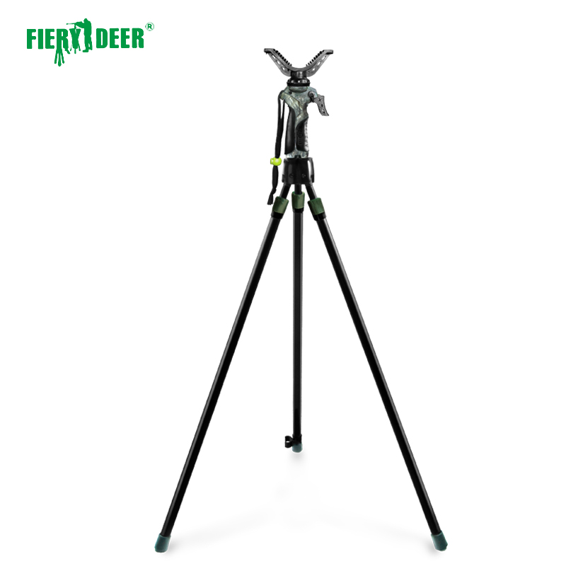 Fiery Deer quick stick Outdoors Shooting SticksTripod Shooting Stick Huntinghunting stand,hunting rack,hunDX 004GEN3