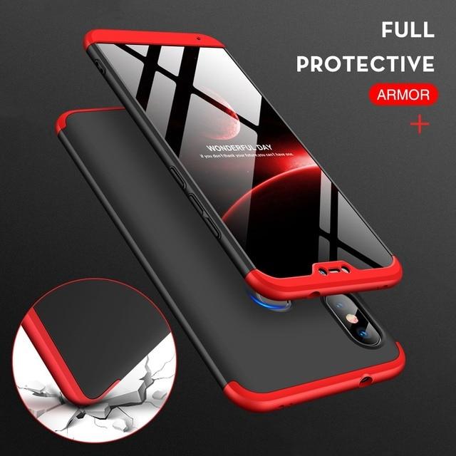 Phone Case For Xiomi Xiaomi Mi A2 Lite Case 360 Cover For Pocophone F1 Coque For Redmi Note 6 Pro 5 Plus 6A 5A S2 Mi Max 3 8 SE