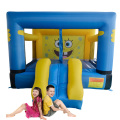 DHL FREE SHIPPING Mini bouncy castle inflatable bouncer jumping castle with slide for residential use
