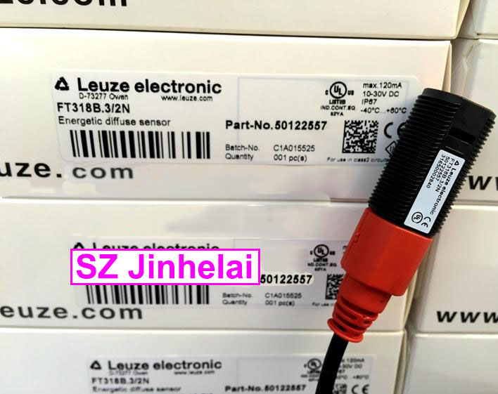 FT318B.3/2N  New and original Germany LEUZE Photoelectric switch, Photoelectric sensor et328 3 2n rt 318m n 400 photoelectric switch