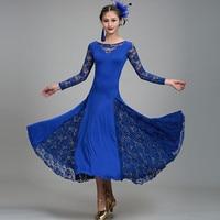 6 colors standard ballroom dress for ballroom dancing Standard viennese waltz dress flamenco dress spanish dance costume