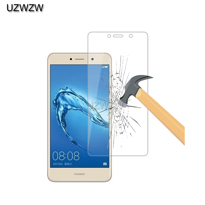 2pcs 9H 2.5D Premium Tempered Glass For Huawei Y7 Screen Protector Protective Film Glass For Huawei Y7 / Y7 Prime Glass