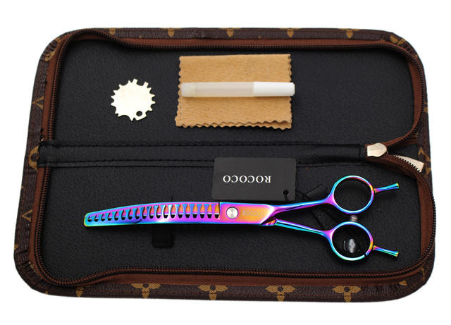 Pet Grooming Curved Thinning Scissor