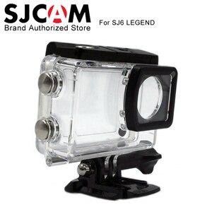 Image 2 - SJCAM SJ6 Legend Accessories sj6 Underwater Housing sj6 cam Waterproof Case 30M Diving For SJCAM SJ6 Legend Sports Action Camera