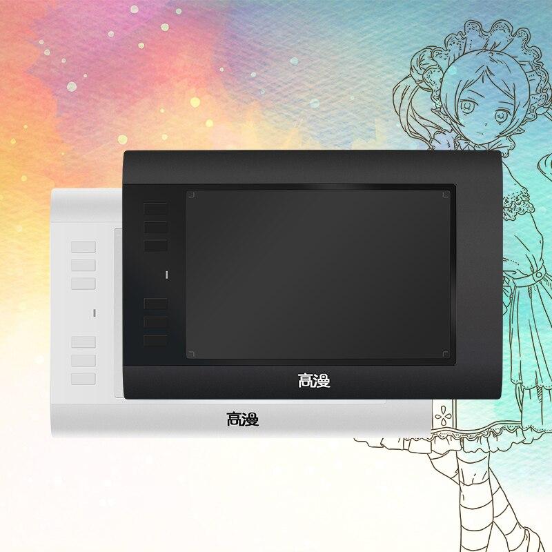 Original GAOMON 860T 8-Inch Pen Tablet Art Digital Pad USB Graphic Drawing Tablets with 6 Customizable Keys