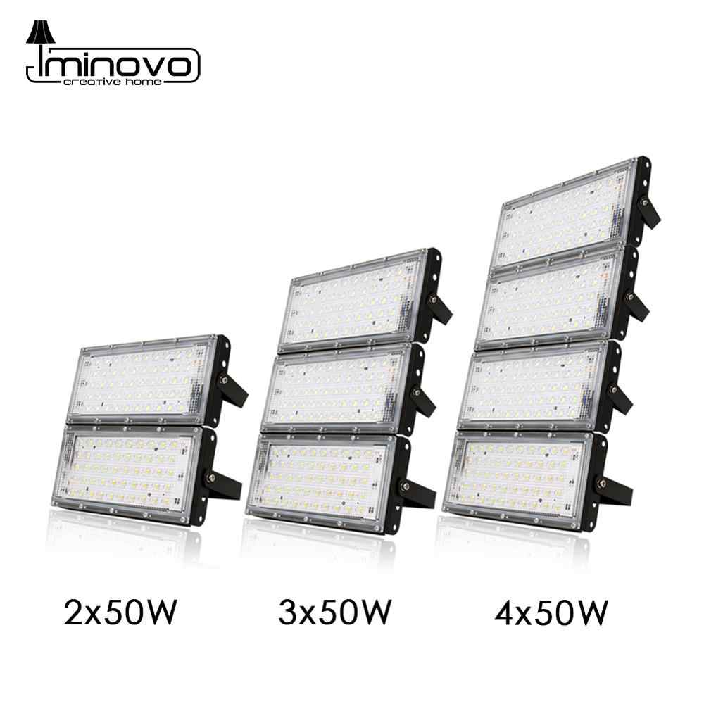 Floodlight 10W 50W LED Flood light Lighting Outdoor Street Lamp Wall Reflector Waterproof IP65 Spotlight AC 220V 240V