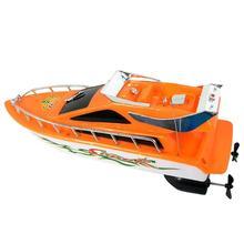 Дети дистанционного управления RC Супер Мини скоростная лодка высокая производительность лодка игрушка водные игрушки для детей