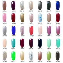 8ML Nail Art Pure Color Gel