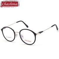 Chashma Marca Leopardo Viola Tartaruga Giallo Rotonda Occhiali Da Vista Frames per Le Donne e Gli Uomini Occhiali per la Signora