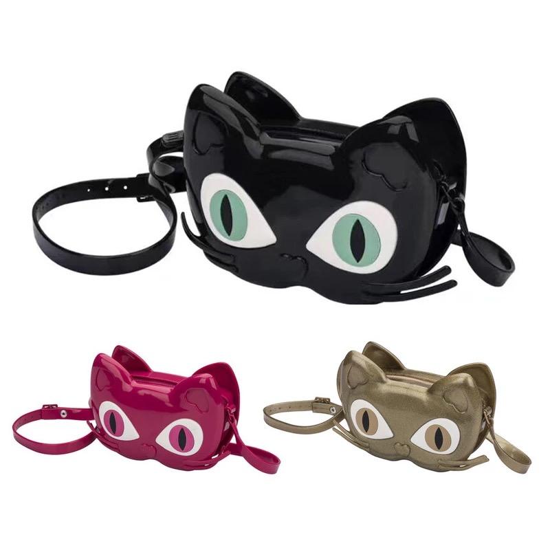 Mini Melissa Brand 2019 Girls Jelly Sandals Cute Cat Melissa Bag Black/Red/Gold/ High Quality Girls Melissa Bag