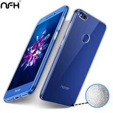 Для huawei Honor 8 Lite телефон NFH прозрачный мягкий ТПУ чехол для huawei Honor8 Lite Тонкий силиконовый чехол