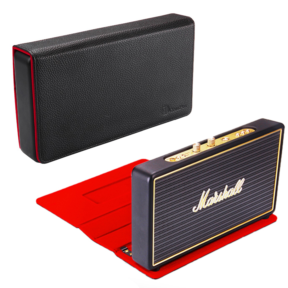 Case With Magnetic Suction Function PU Travel Carrying Storage Case For Marshall Stockwell Portable Bluetooth Speaker brand new storage portable travel soft carrying case bag for jbl xtreme wireless bluetooth speaker