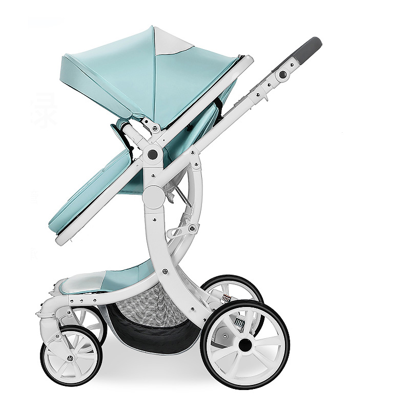 Aimile stroller can sit flat and high landscape folding baby child newborn child stroller cart Mom's good helper m rondeau a newborn child