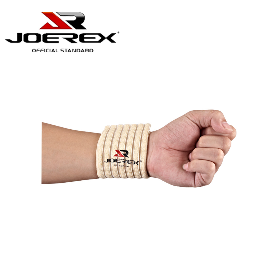 Joerex Wrist Compression Brace One Size Fit All Strap and Support Exercise Wrist Wraps