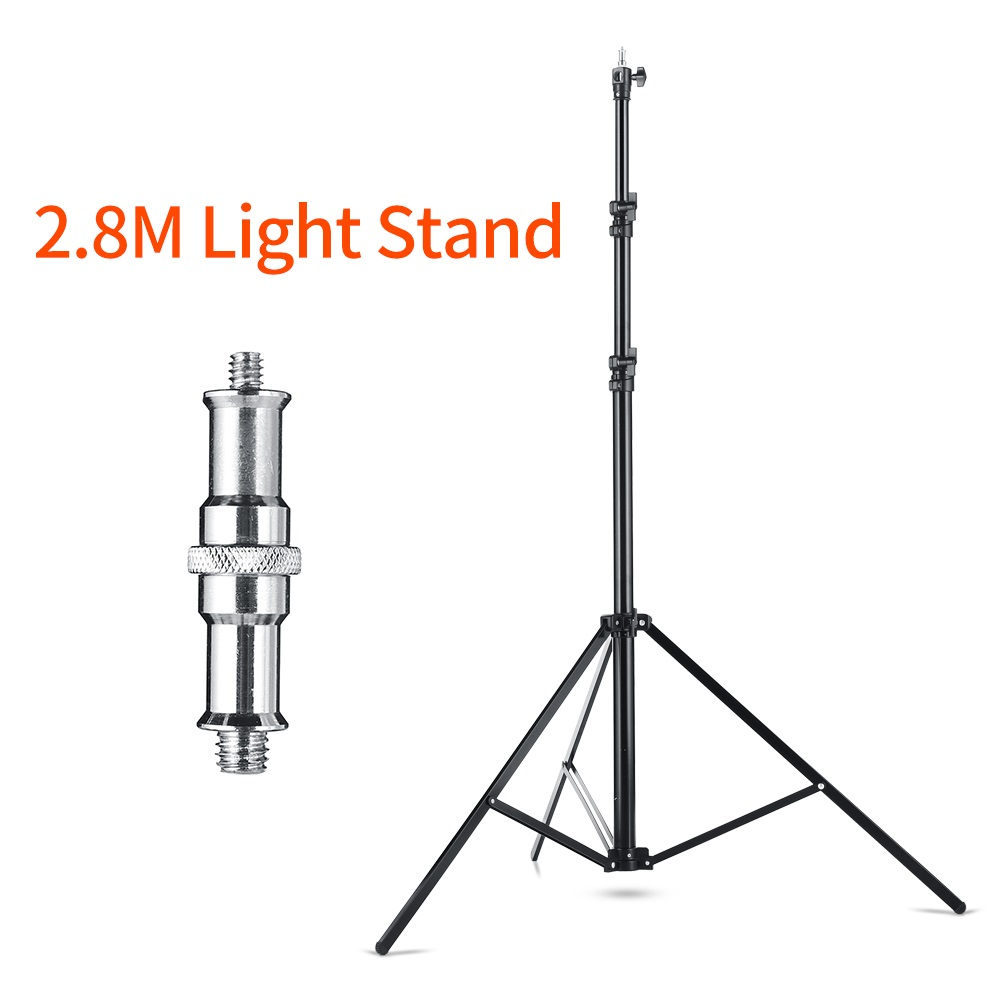 Quick installation 280cm Heavy Duty Impact Air Cushioned Video Studio Light Stand Tripod For Studio Photography