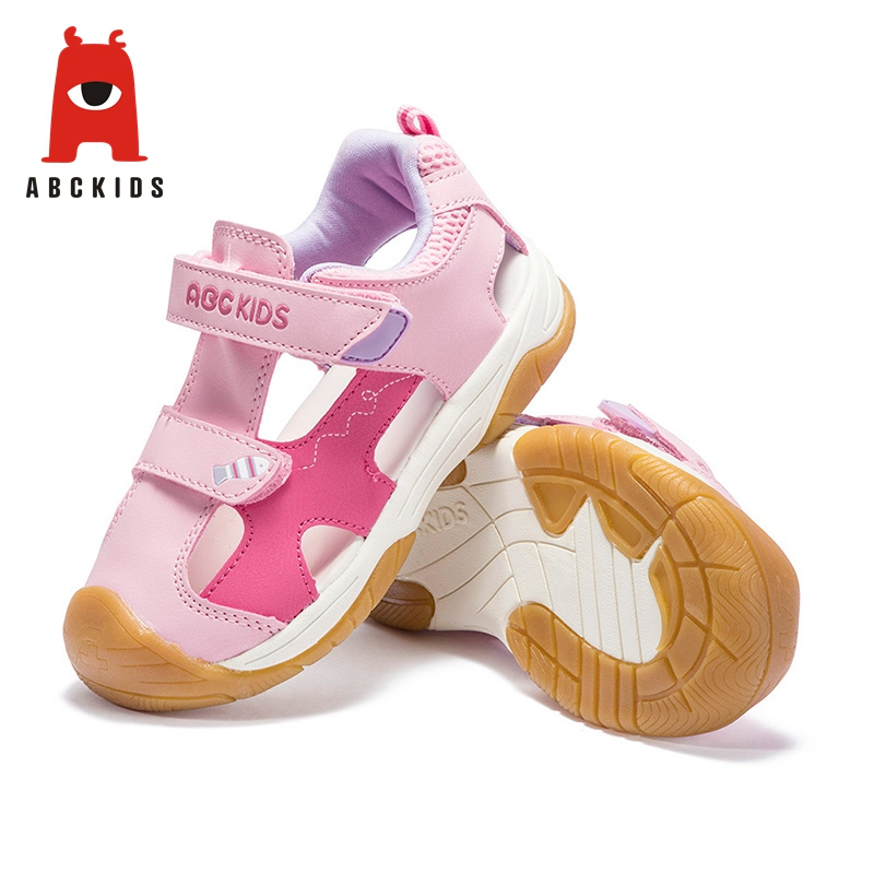 Abckids Spring Summer Unisex Print-design Shoes Non-slip Sneakers With Closed Toe For Boys Girls Brand Kids Shoes