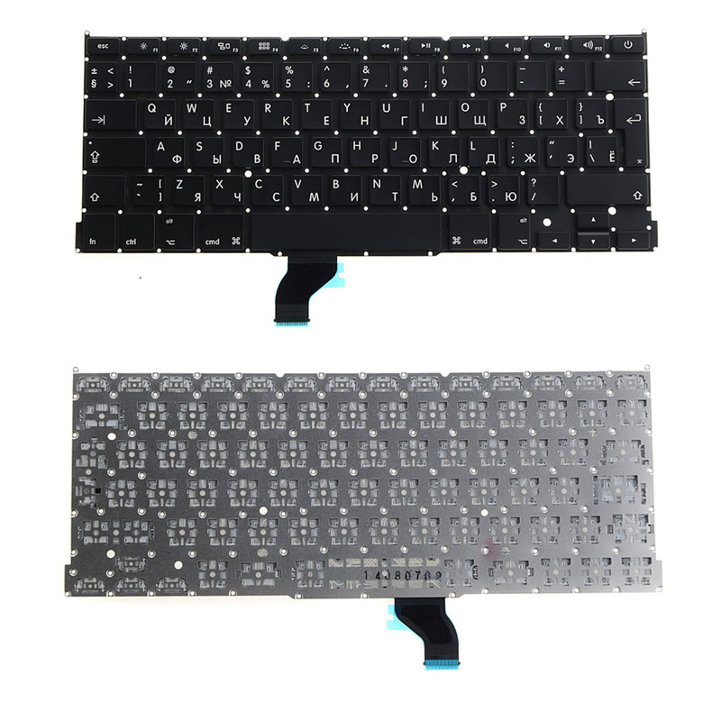 New Laptop Keyboard Replacement Notebook English Russian Standard Fit For A1398 Keyboard for Computer Usb Desktop