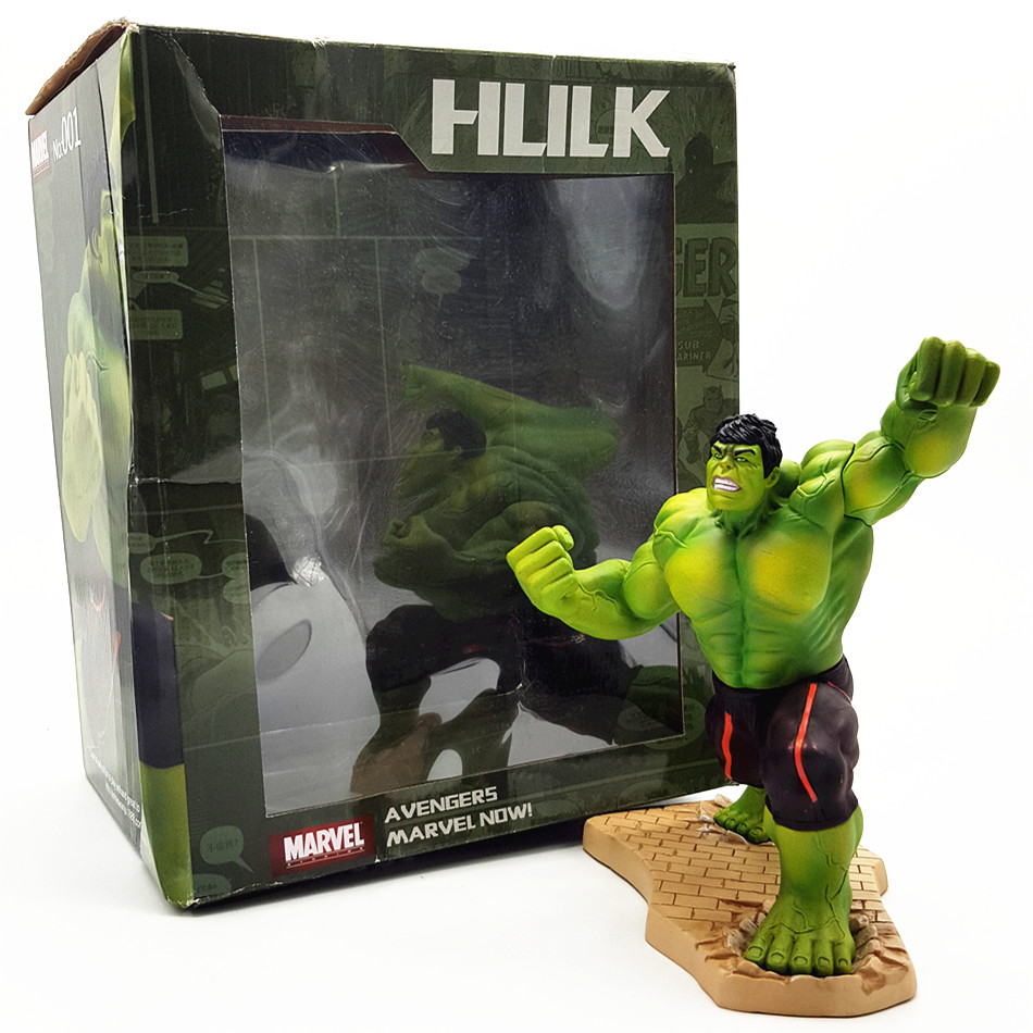 SAINTGI Marvel Avengers Assemble The Hulk Doll Super Heroes Pvc 20CM Action Figure Collection Model Toys Dolls Movie & Tv