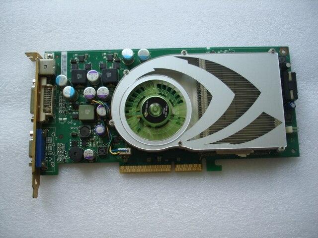 7800GS AGP 8X version publique 256 M DDR3 console de jeu carte de jeu vidéo garantie 1 an utilisé